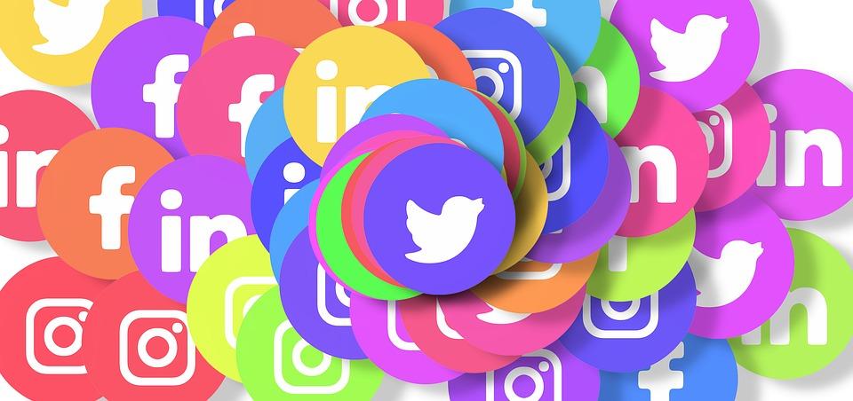 Image des logos des réseaux sociaux