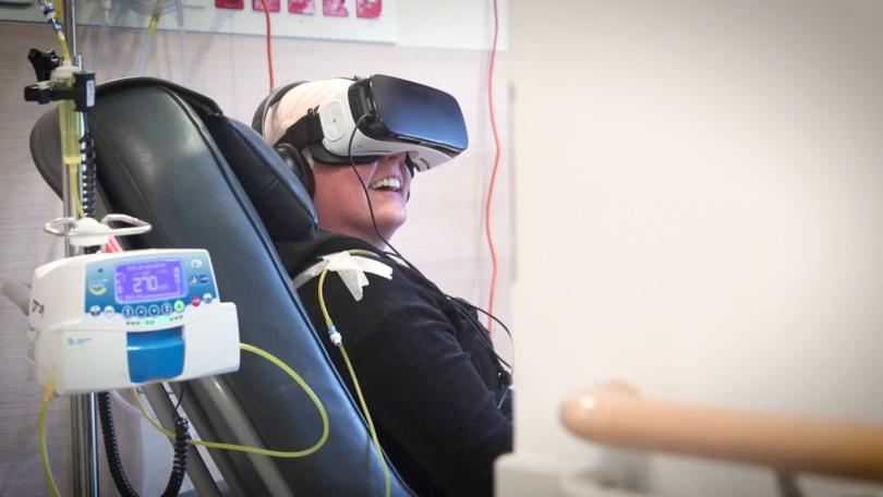La réalité virtuelle pour soigner les patients