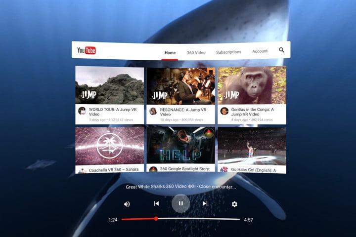 Réalité Virtuelle YouTube
