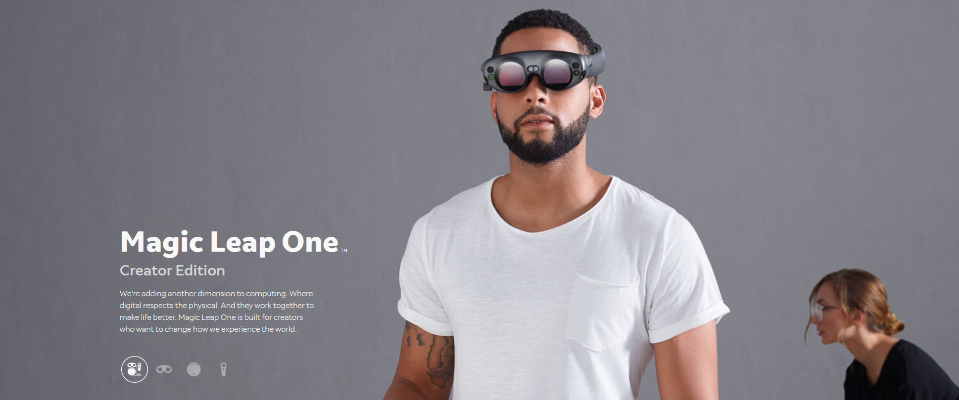 Photo du Magic Leap One Creator