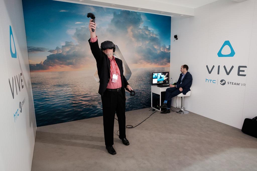 Jouer aux jeux en réalité virtuelle