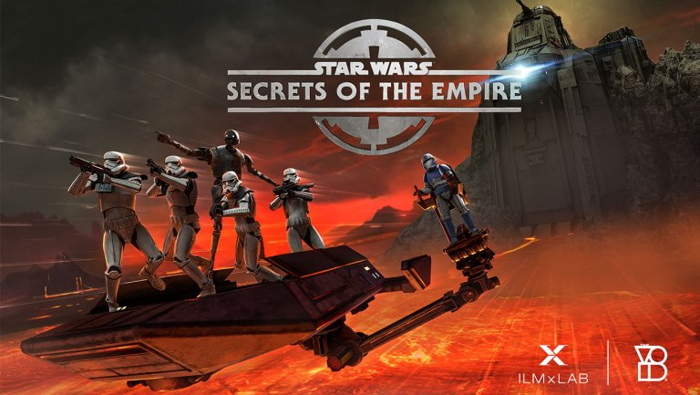 Cover de Star Wars : Secrets of the Empire