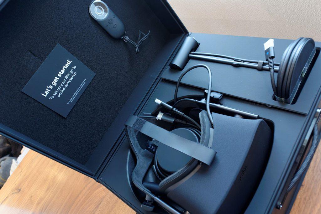 photo de la boite du casque VR Oculus Go