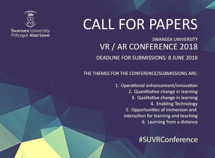 VR / AR conférence 2018