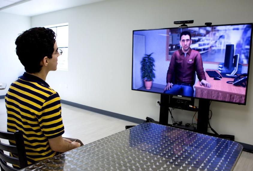 VR sur grand écran
