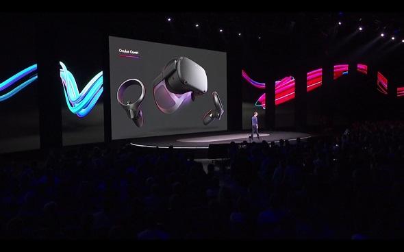 Photo de l'événement du lancement de l'Oculus
