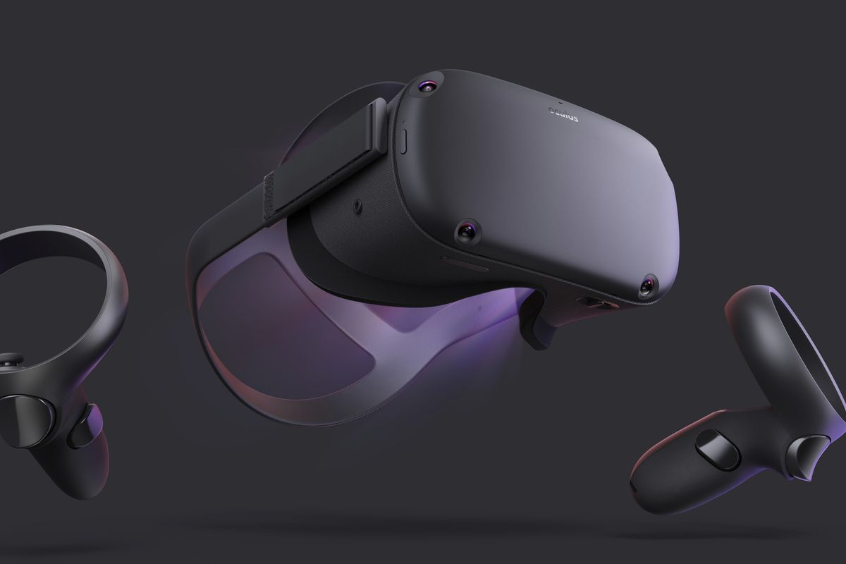 Photo du casque VR Oculus Quest