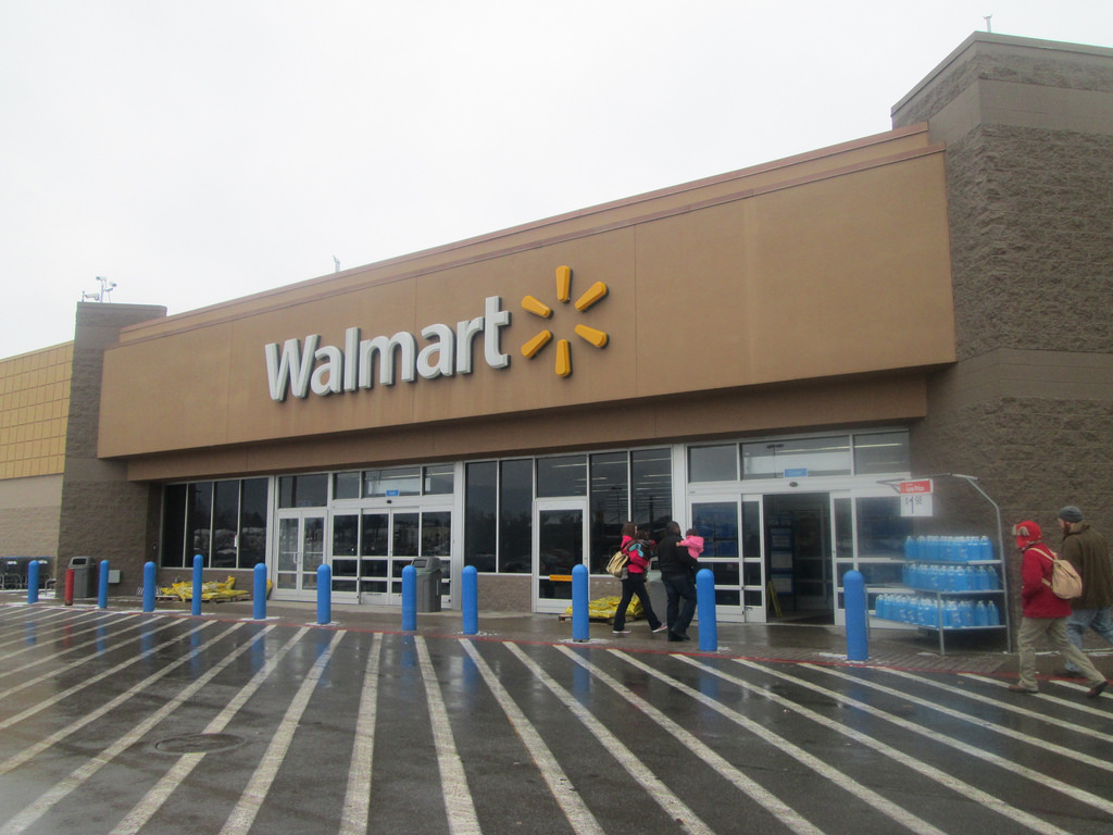 Photo d'un magasin Walmart