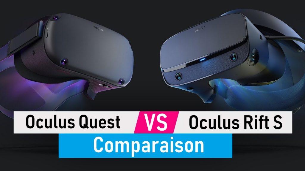 Oculus Quest contre Oculus Rift S