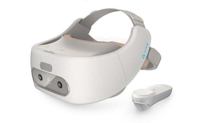 HTC Vive Focus et ses contrôleurs