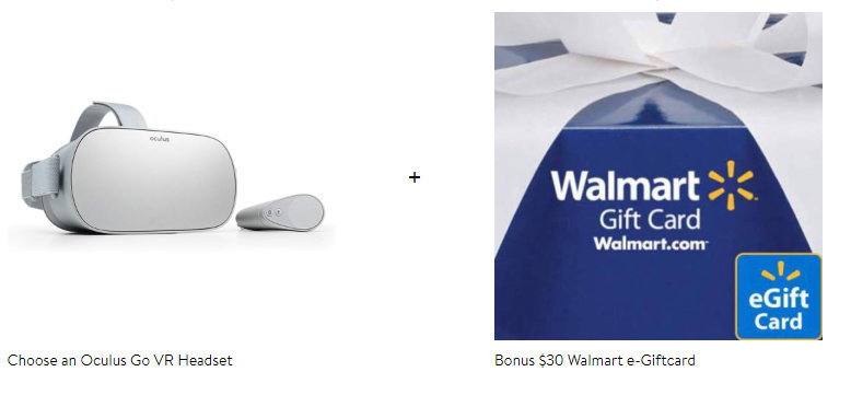 Walmart Oculus Go Gift-Card