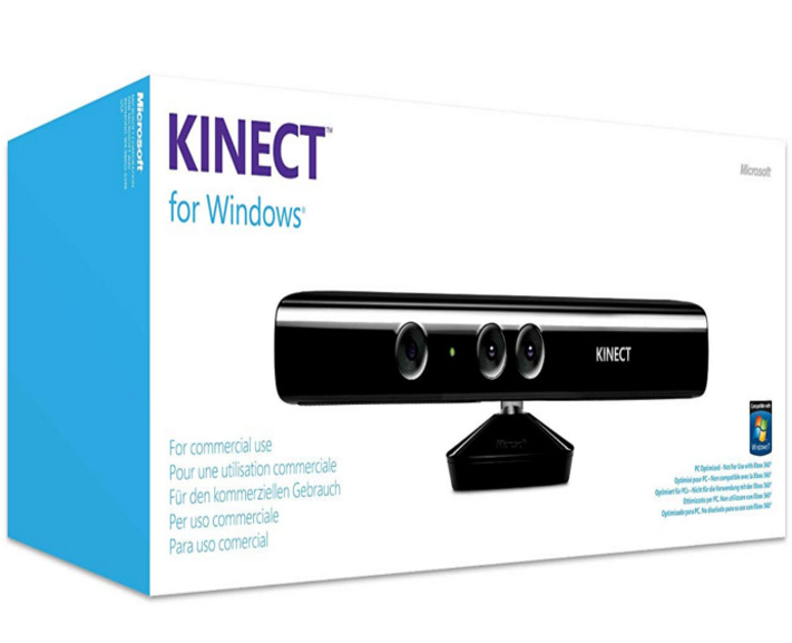 contrôleur Microsoft Kinect