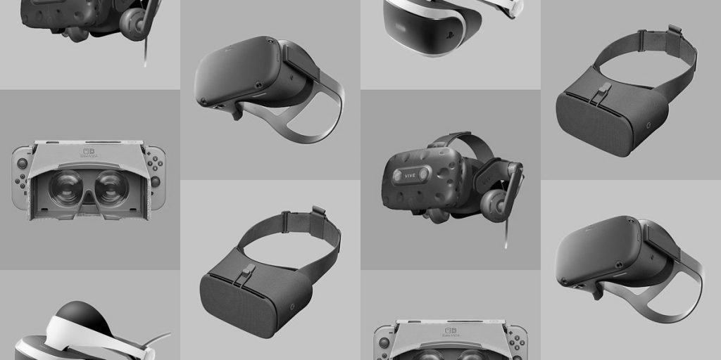 Multiples casques VR