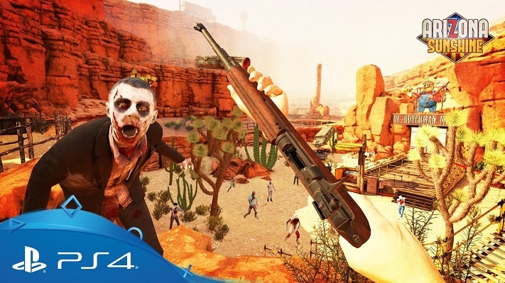 jeu VR : Arizona Sunshine