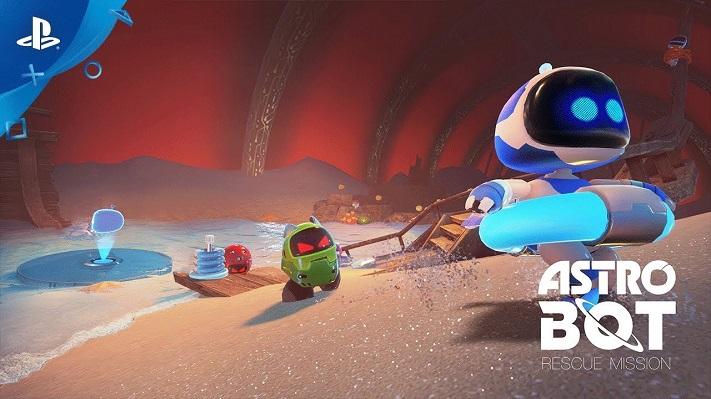 Jeu VR Astro Bot : Rescue Mission