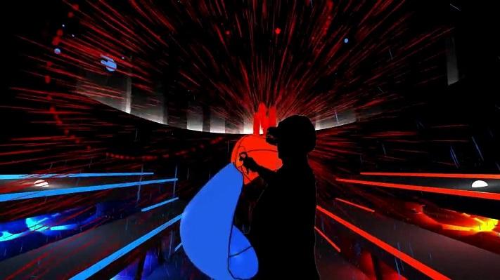 Jeu VR : Audioshield
