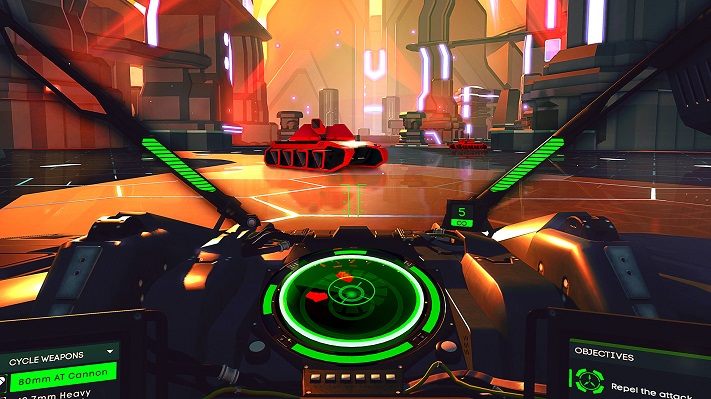 Jeu VR : Battlezone
