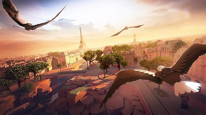 Jeu VR : Eagle Flight