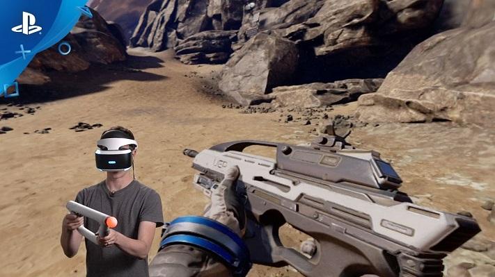 jeu VR : Farpoint