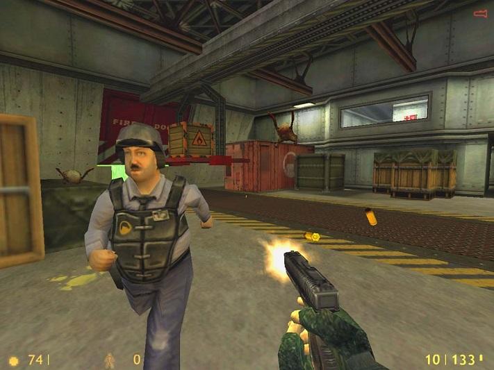 Jeu Half-Life VR