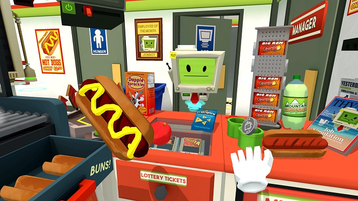 Jeu VR : Job Simulator