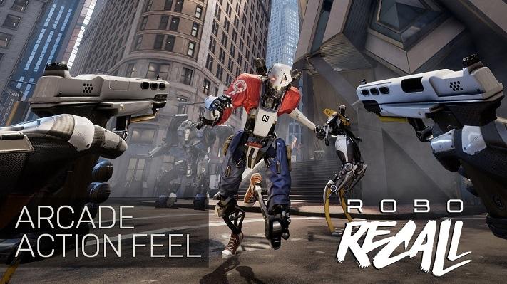 Jeu VR : Robo Recall