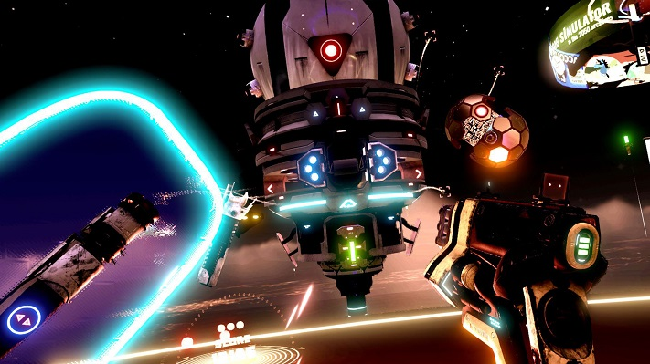 Jeu VR : Space Pirate Trainer