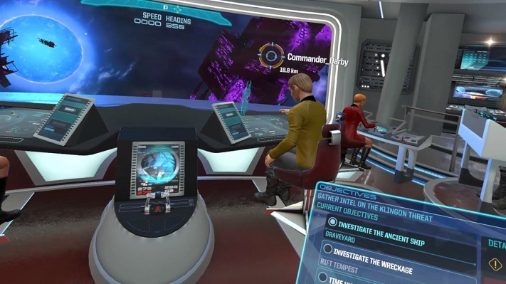 Jeu VR Star Trek : Bridge Crew