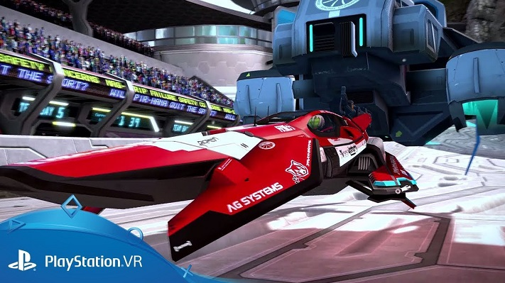 Jeu VR Wipeout Omega Collection