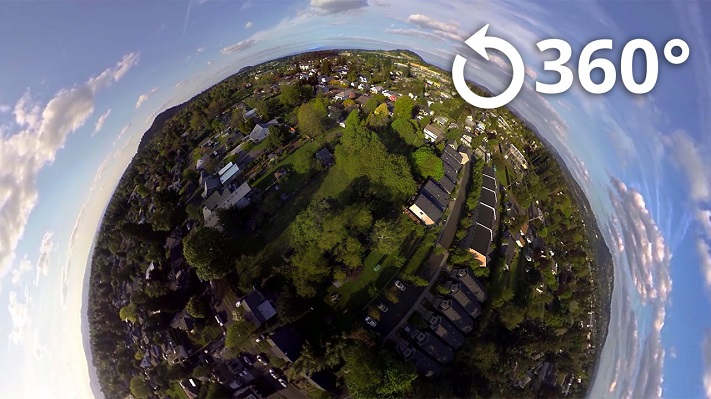 vidéo VR 360°