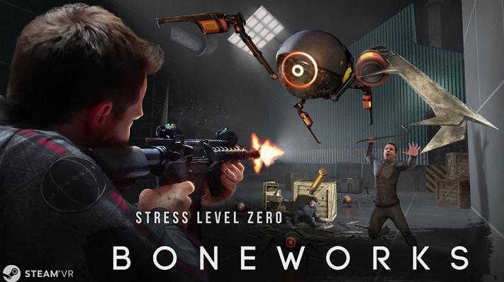 Jeu VR Boneworks