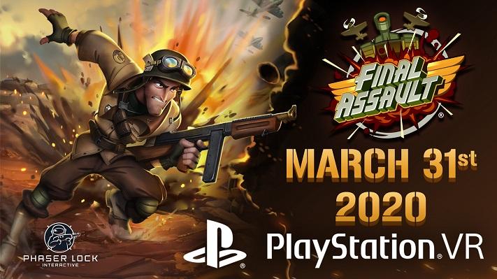 Final Assault date de lancement PSVR