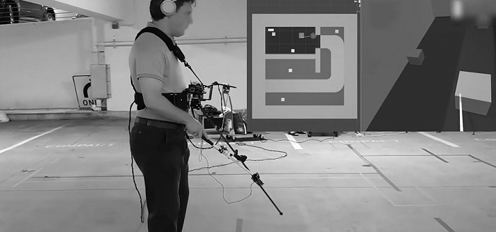 Système VR pour les aveugles