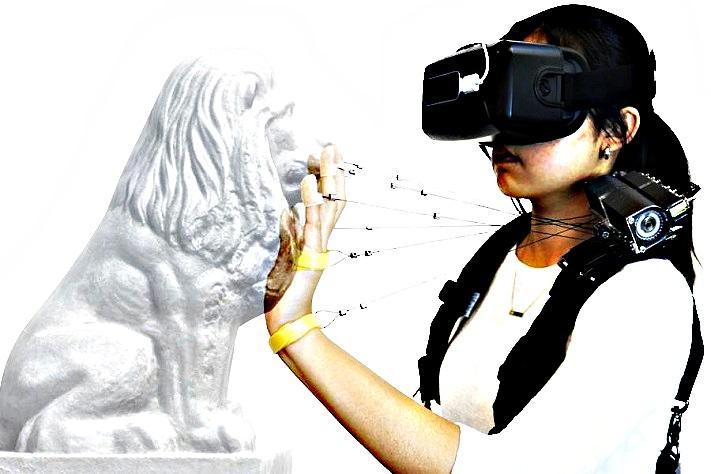 Réalité virtuelle - objet solide