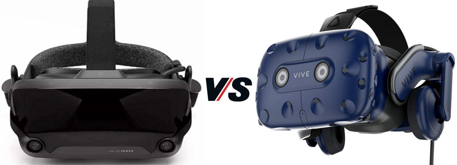 Valve Index VS HTC Vive Pro