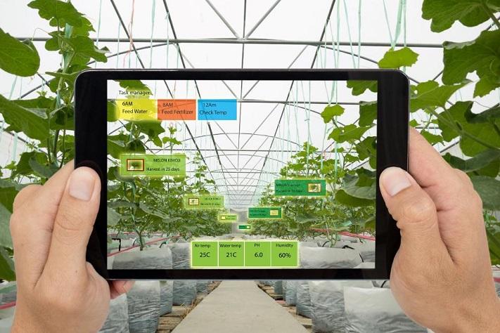 La réalité augmentée dans un environnement de production alimentaire.