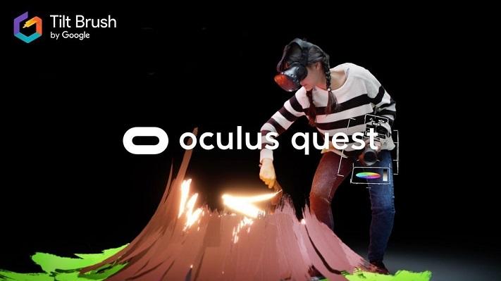 Tilt Brush pour Oculus Quest