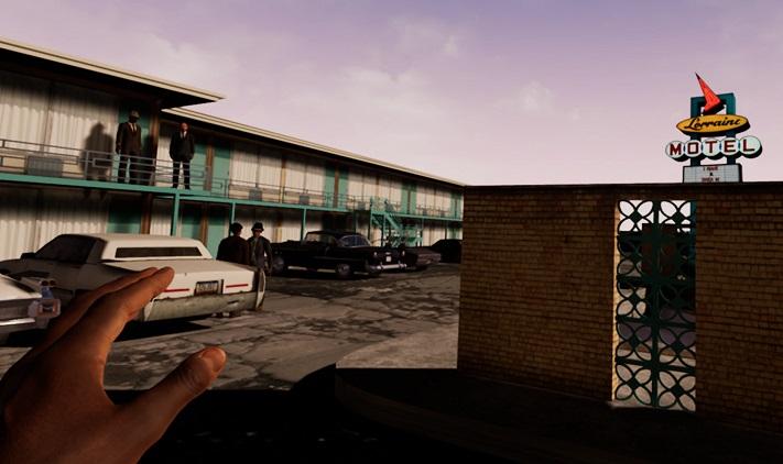 """Une image du jeu de réalité virtuelle """"I Am A Man"""""""