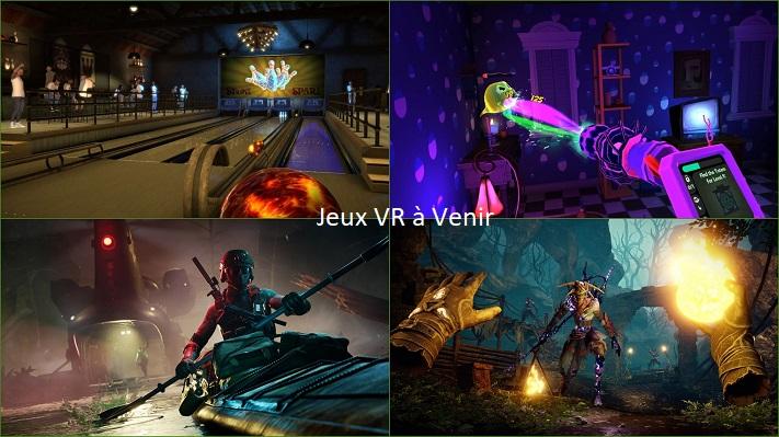 Jeux VR à venir