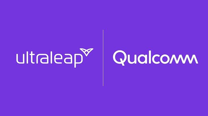 Ultraleap et Qualcomm logos