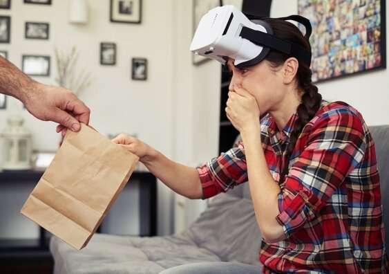 les gens deviennent malades en utilisant la réalité virtuelle CNet