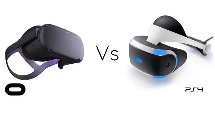 Oculus Quest VS PSVR (PS4 VR)