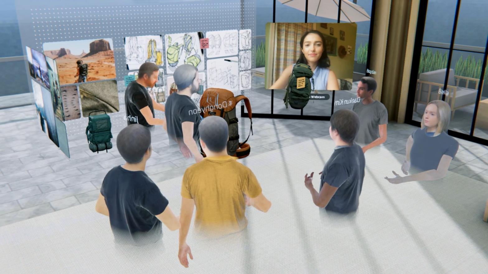 Spatial OculusQuest