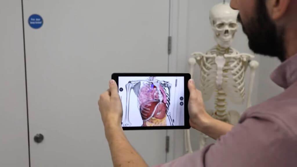 Anatomie en réalité augmentée