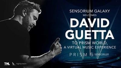 David Guetta rejoint Sensorium Galaxy