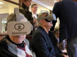 Rendever VR, expériences pour les seniors
