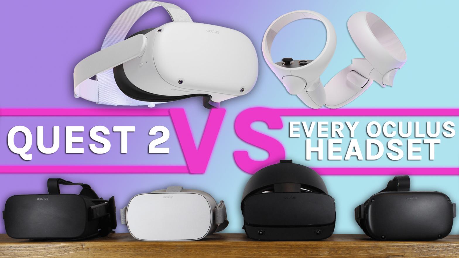 L'Oculus Quest 2 contre tous les casques