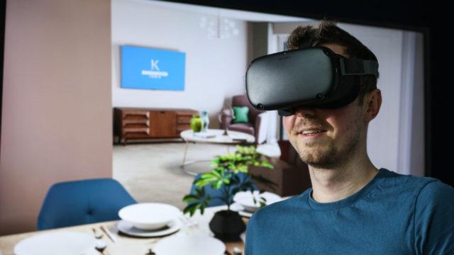 La technologie VR d'Animmersion permet aux clients de se promener dans une propriété réelle et de voir comment les différentes options d'aménagement leur conviendraient.
