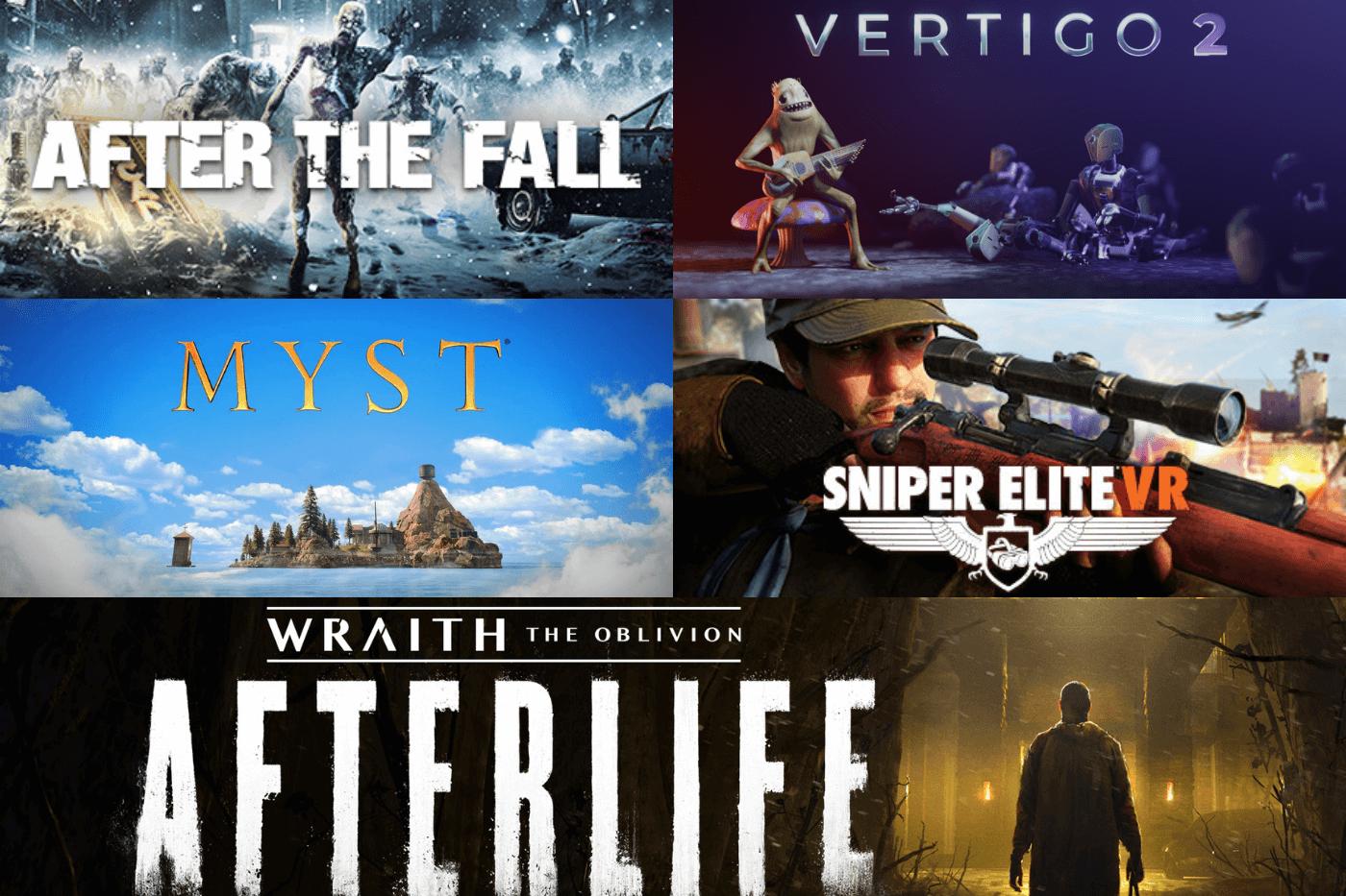 Les meilleurs jeux de réalité virtuelle à venir en 2021