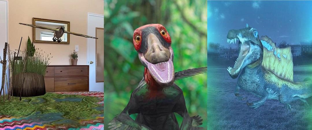 National Geographic fait revivre les dinosaures grâce à la réalité augmentée